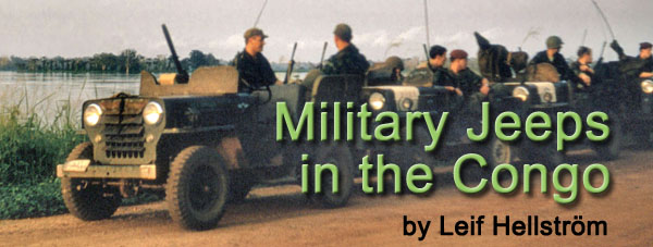 Military Jeeps in the Congo